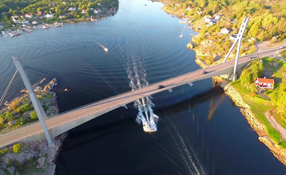 Dji Phantom 2 - Hvaler Bridge